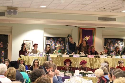 USCHS Chanteclairs host Madrigal Dinner