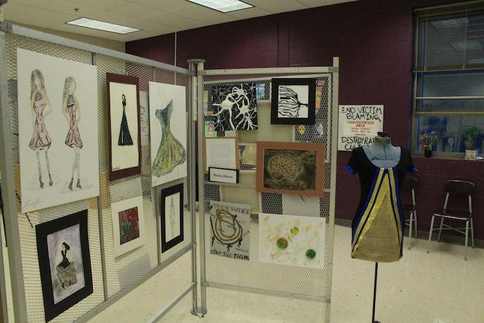 USC art students debut work in IB Art Show