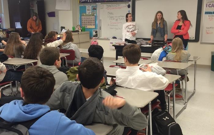 "High school mentors make sure 8th-graders ""got this"""