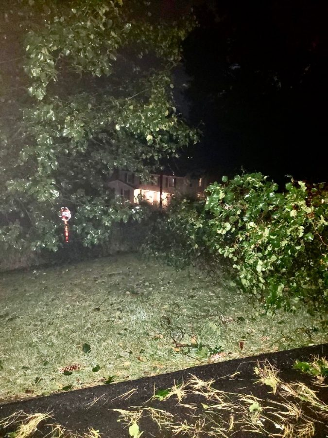 Storms Hit During Homecoming Weekend
