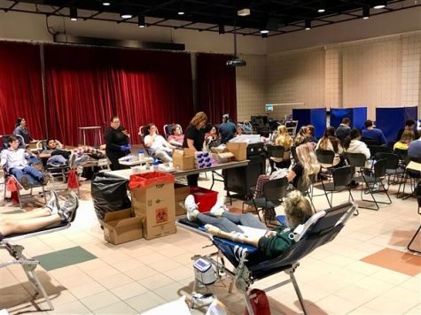 USC Conducts Blood Drive